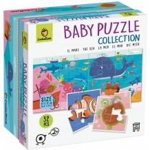 Baby Puzzle Mer - 8x4 Pieces